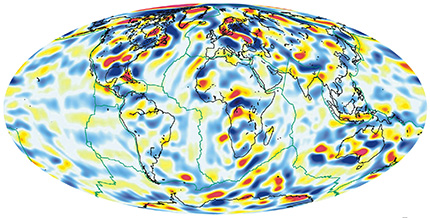 Scalar magnetic anomaly map